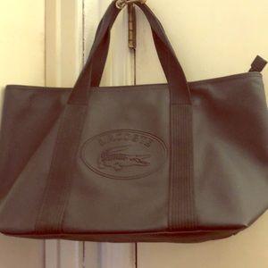 Lacoste Blue Iris large Shopping bag pvc